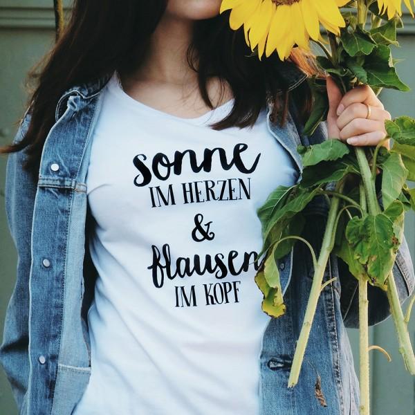 "Shirt ""SONNE & FLAUSEN"""