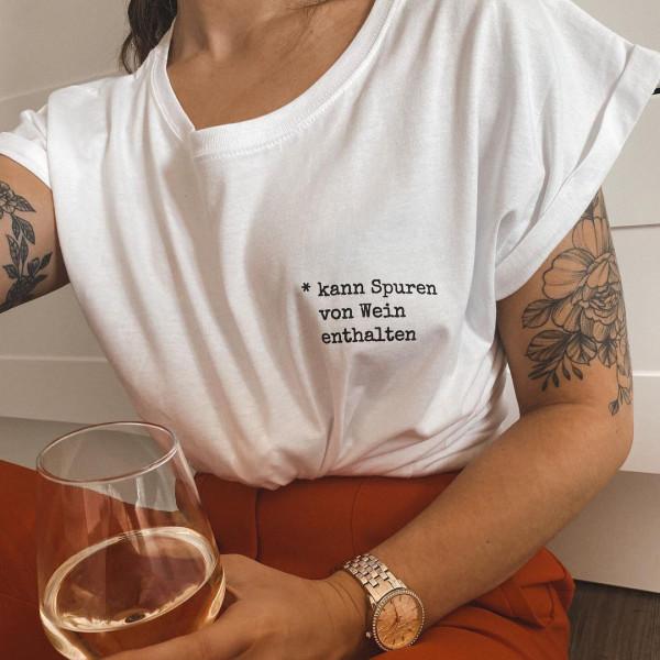 """Shirt """"SPUREN VON WEIN"""""""