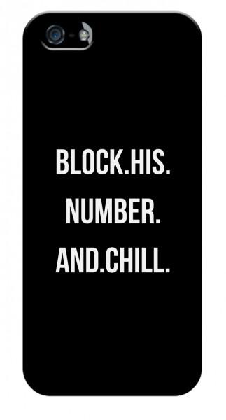 Handyhülle BLOCK'S NUMBER