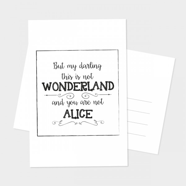 """Postkarte """"ALICE"""""""