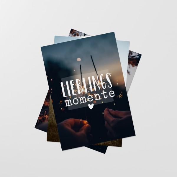"Postkarten-Set ""LIEBLINGSMOMENTE"""