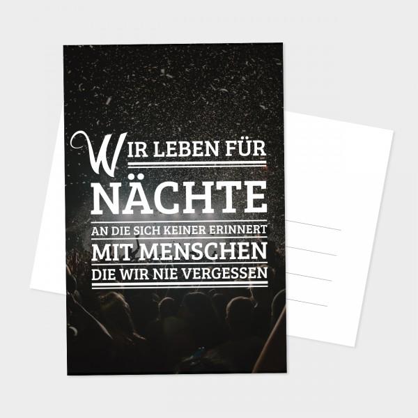 "Postkarte ""NÄCHTE"""
