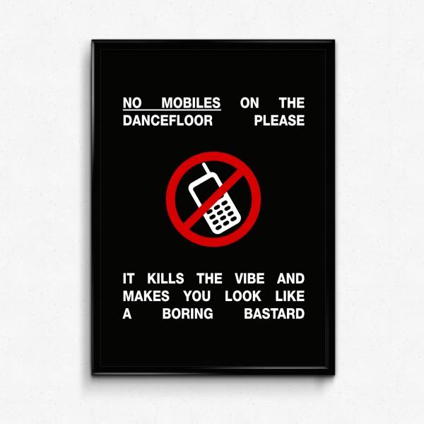 Motiv NO MOBILES