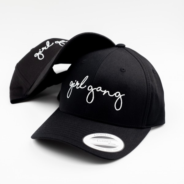 "Curved Cap ""GIRLGANG"""