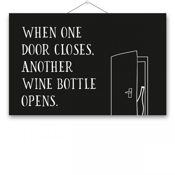 "Poster ""WINE BOTTLE"""