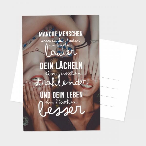 """Postkarte """"LAUTER UND STRAHLENDER"""""""