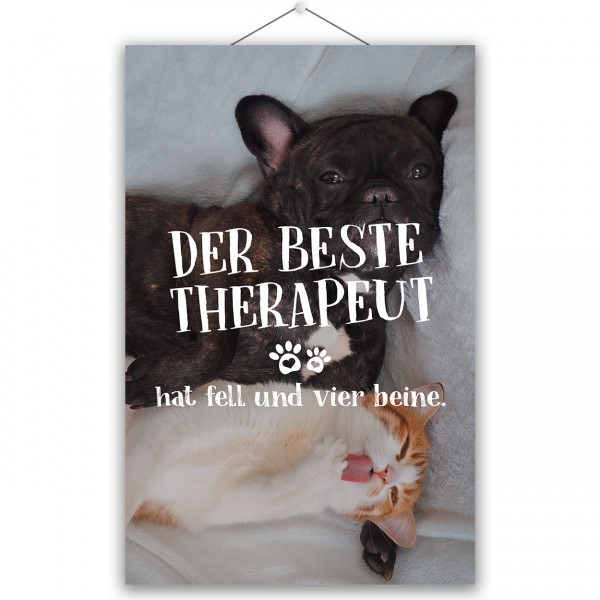 "Poster ""DER BESTE THERAPEUT"""