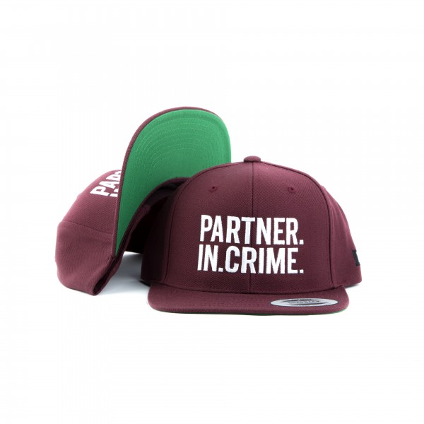 "Snapback ""PARTNER.IN.CRIME."""