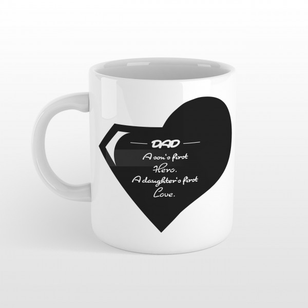 Vatertag Tasse HERO & FIRST LOVE
