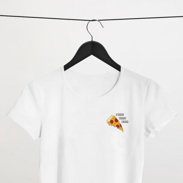"Shirt ""JUST PIZZA"""