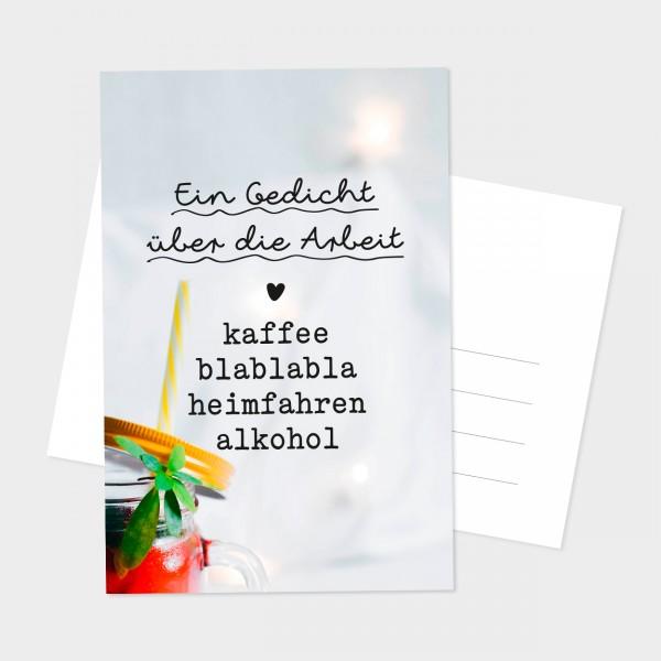 """Postkarte """"EIN GEDICHT"""""""
