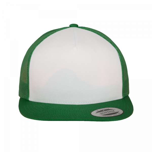 Flexfit Classic Trucker 6006W - Kellygreen-White-Kellygreen