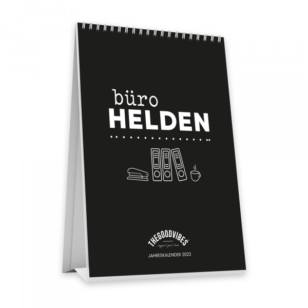 """Tischkalender 2022 """"BÜROHELDEN"""""""
