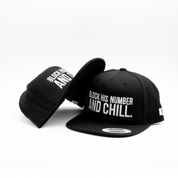 "Snapback ""BLOCK HIS NUMBER"""