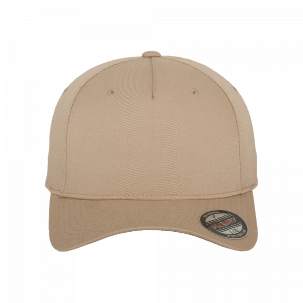 Flexfit 5 Panel Baseball Cap 6560 S/M – khaki
