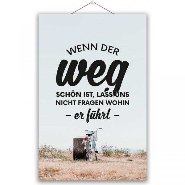 """Poster """"DER WEG"""""""