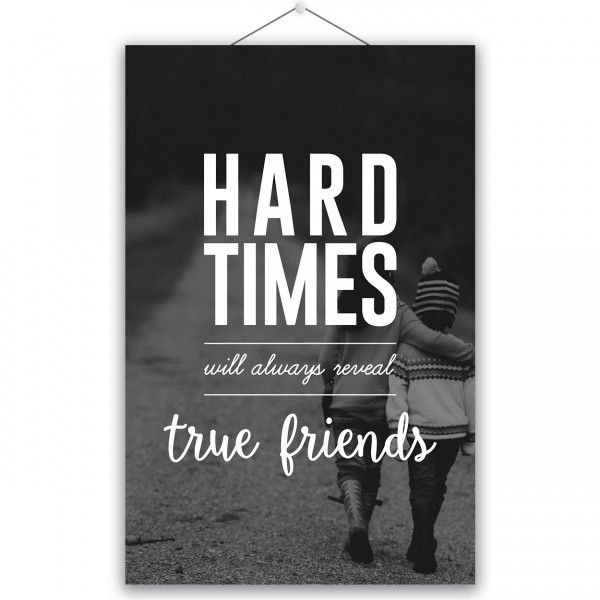 "Poster ""TRUE FRIENDS"""