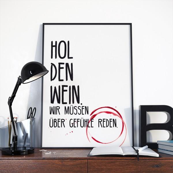"""Motiv """"HOL DEN WEIN"""""""