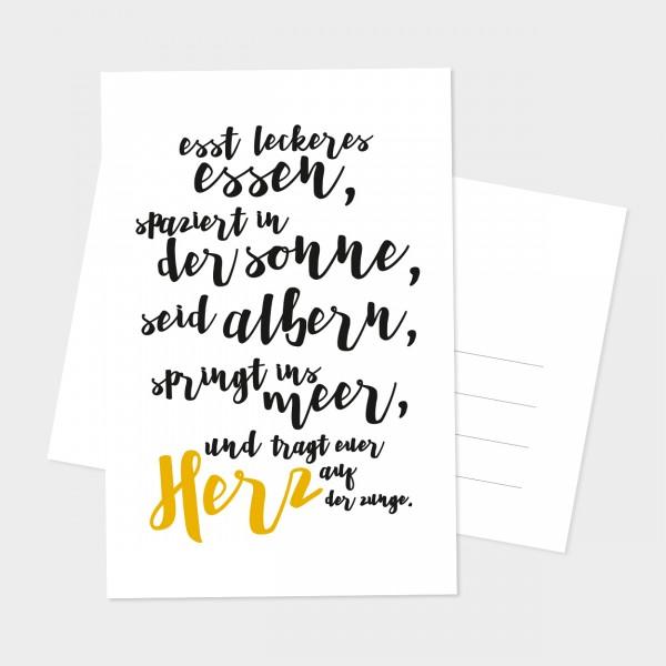 """Postkarte """"EUER HERZ"""""""