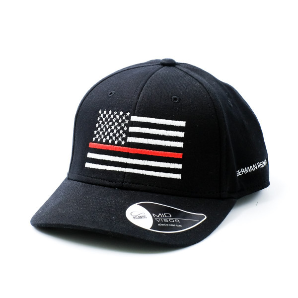 Curved Cap American Flag