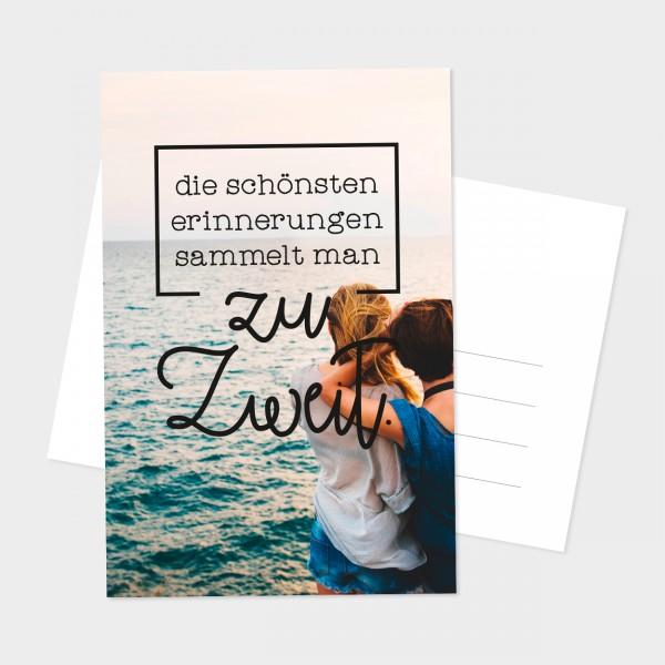 "Postkarte ""ZU ZWEIT"""