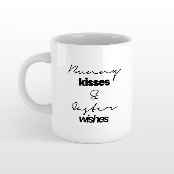BUNNY KISSES Tasse Weiß