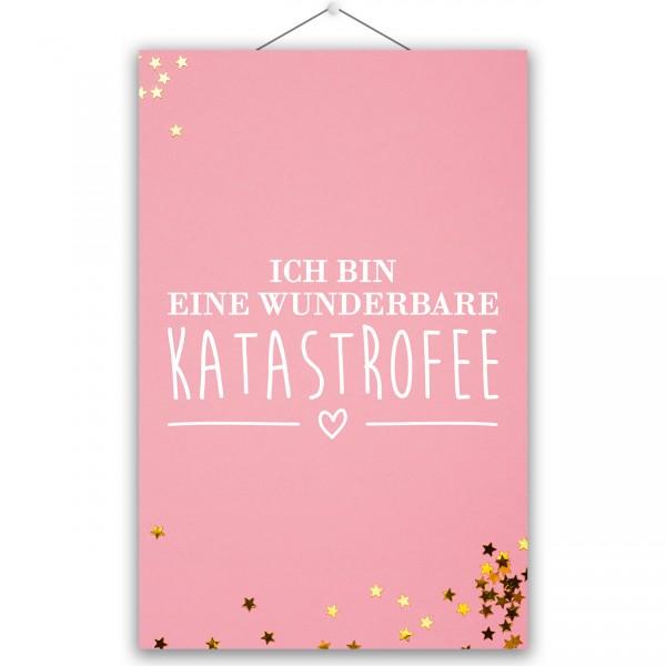 "Poster ""KATASTROFEE"""