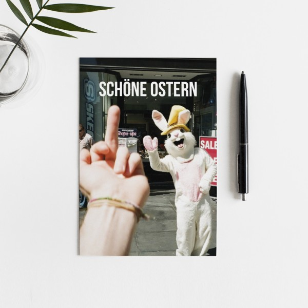 Postkarte SCHÖNE OSTERN