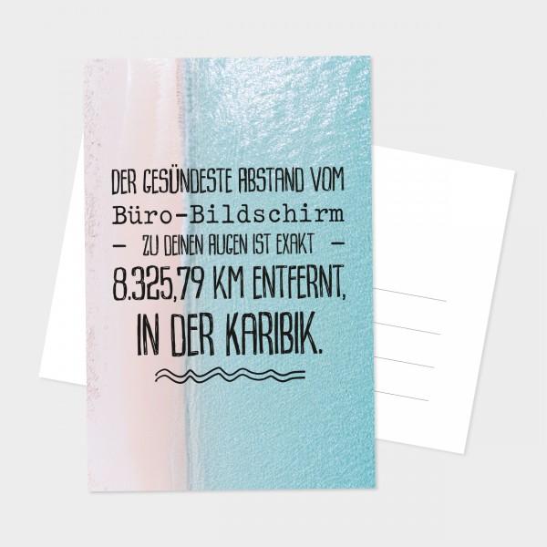 """Postkarte """"KARIBIK"""""""