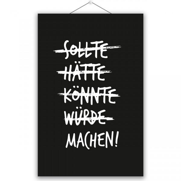 """Poster """"MACHEN"""""""