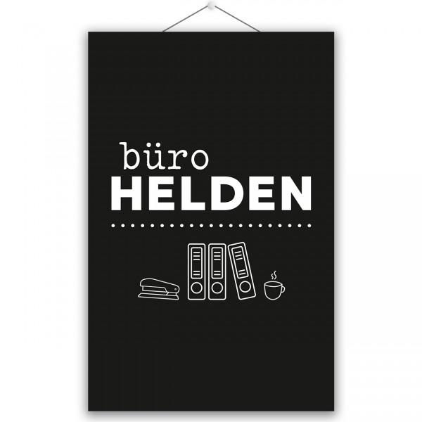 """Poster """"BÜROHELDEN"""""""