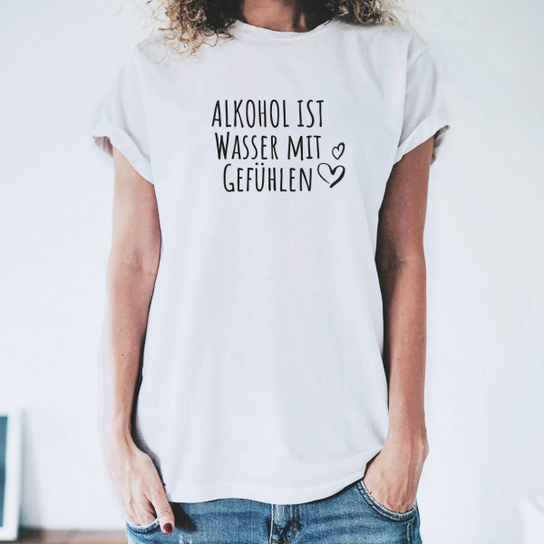 """Shirt """"WASSER MIT GEFÜHLEN"""""""