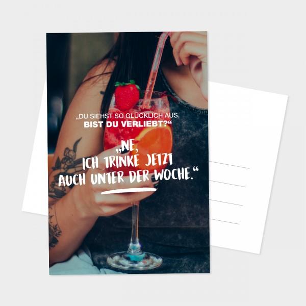 "Postkarte ""VERLIEBT"""