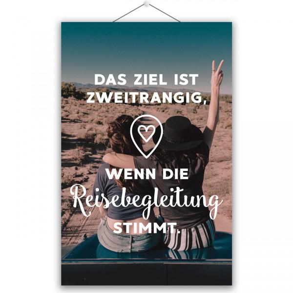 """Poster """"REISEBEGLEITUNG"""""""