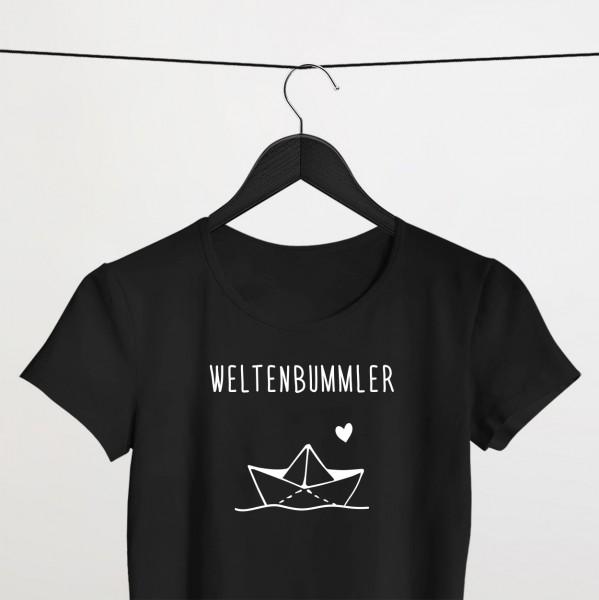 """Shirt """"WELTENBUMMLER"""""""