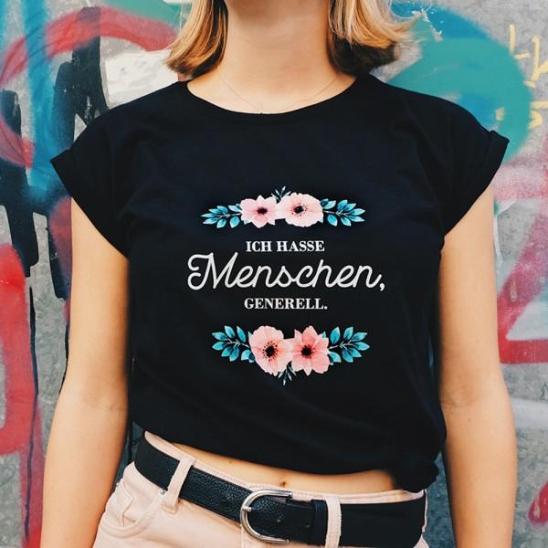 """Shirt """"ICH HASSE MENSCHEN"""""""