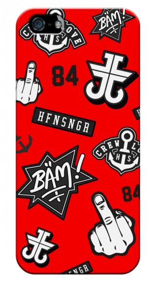 CREWPATCHES RED