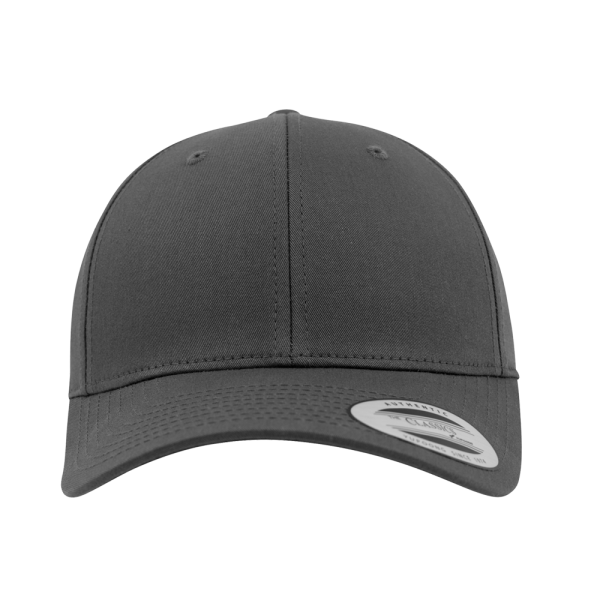 Flexfit Curved Classic Snapback 7706 - Charcoal