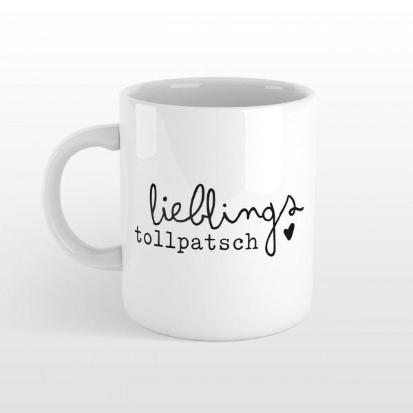 """Tasse """"LIEBLINGSTOLLPATSCH"""""""