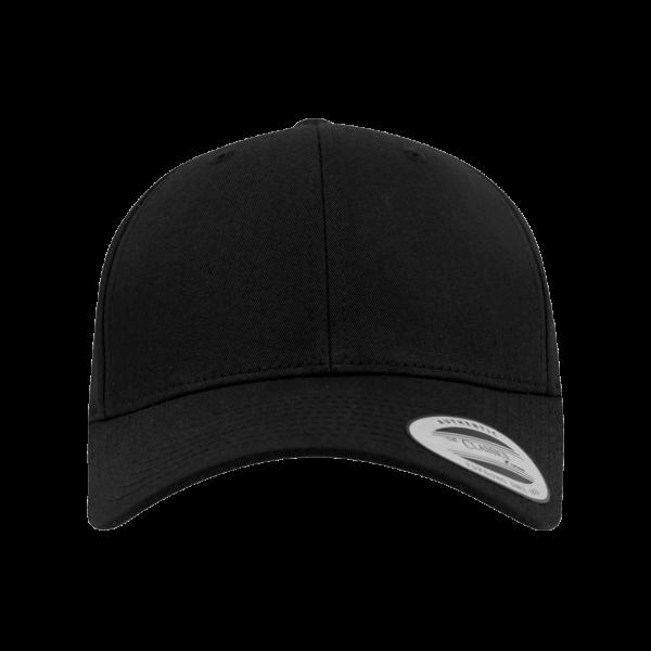Flexfit Curved Classic Snapback 7706 - Black
