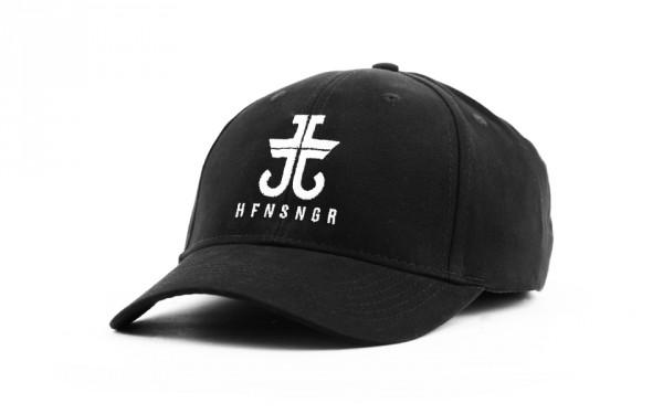 JL CURVED CAP BLACK