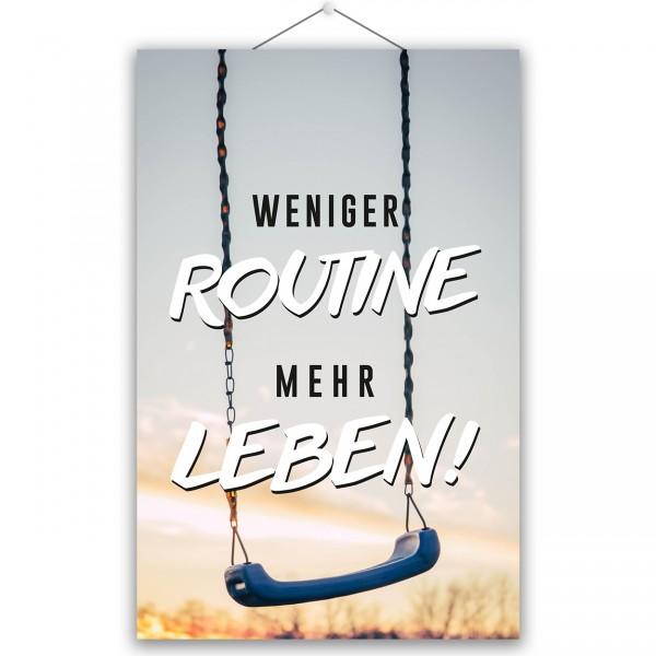 """Poster """"MEHR LEBEN"""""""