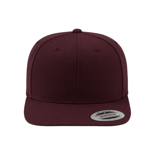 Flexfit Classic Snapback 6089M - allover maroon