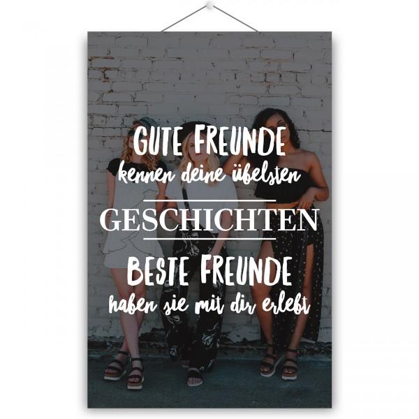 """Poster """"BESTE FREUNDE"""""""