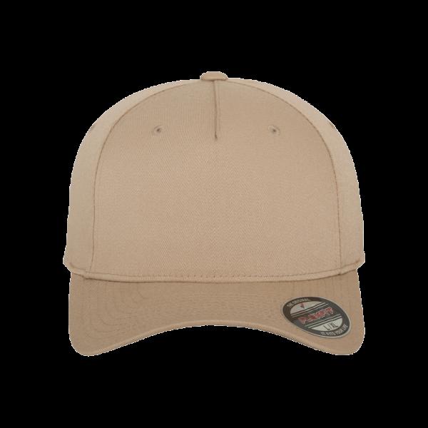 Flexfit 5 Panel Baseball Cap 6560 S/M - khaki