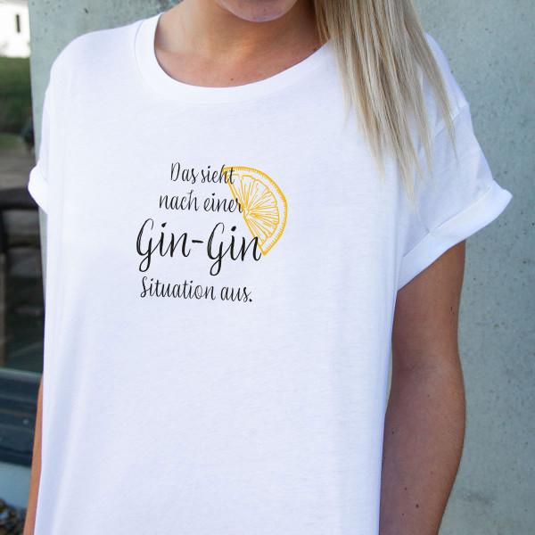 """Shirt """"GIN - GIN"""""""