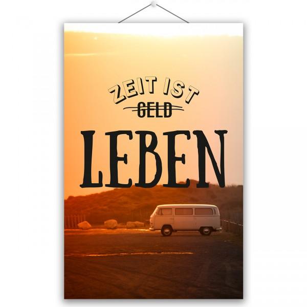 "Poster ""LEBEN"""
