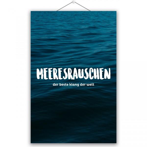 """Poster """"MEERESRAUSCHEN"""""""