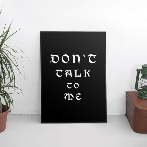 Motiv DON'T TALK