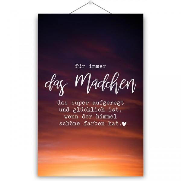 """Poster """"DAS MÄDCHEN"""""""